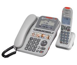 PowerTel 2880 Corded Phone & Cordless Extension Handset