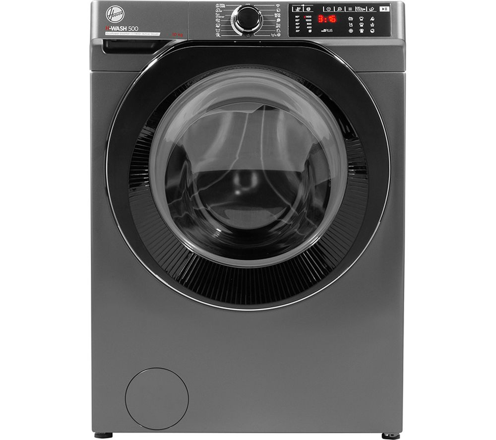 HOOVER H-Wash 500 HWB410AMBCR WiFi-enabled 10 kg 1400 Spin Washing Machine - Graphite