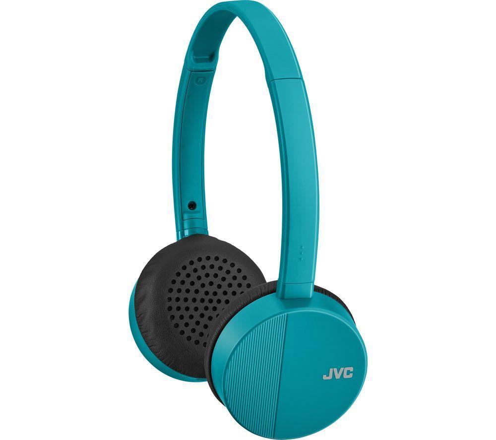 JVC Street Sound HA-S24W-Z-E Wireless Bluetooth Headphones - Mint