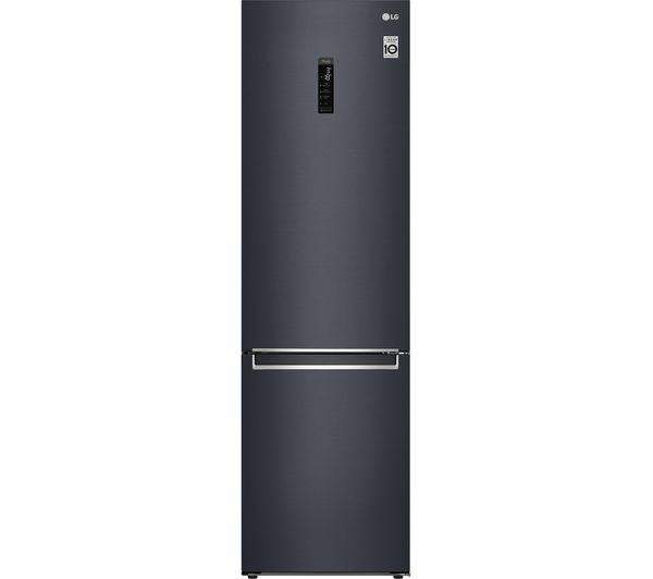Image of LG DoorCooling GBB72MCUF Smart 70/30 Fridge Freezer - Matte Black