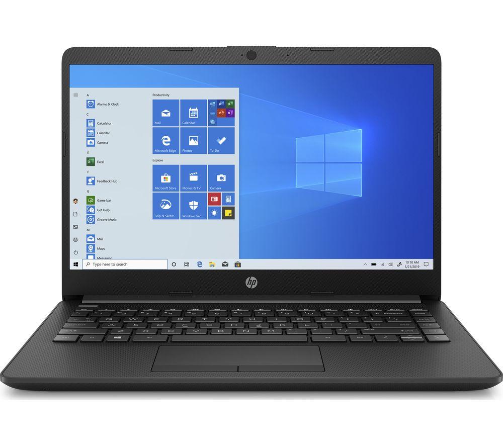 "HP 14-cf2517sa 14"" Laptop - Intel® Pentium™ Gold, 128 GB SSD, Black"