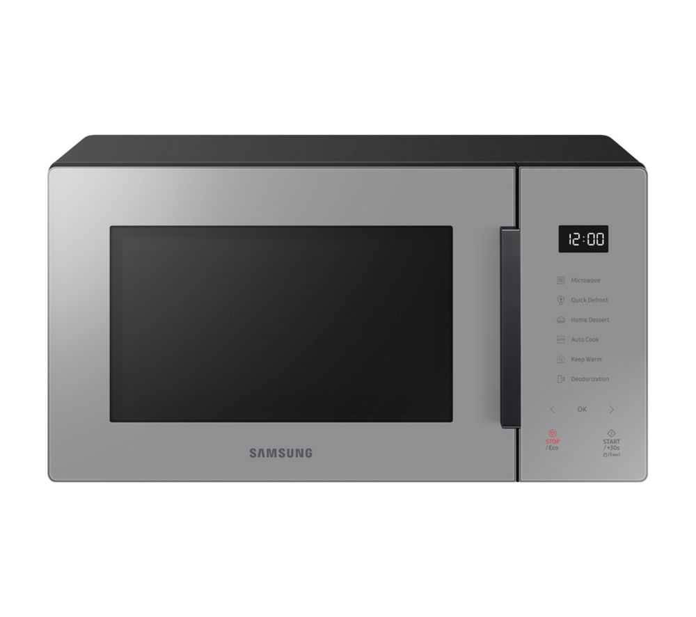 SAMSUNG MS23T5018AG Compact Solo Microwave - Grey