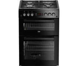 Pro XDG621K 60 cm Gas Cooker - Black