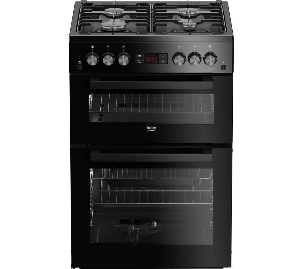Beko Pro Xdg621k 60 Cm Gas Cooker Black Black