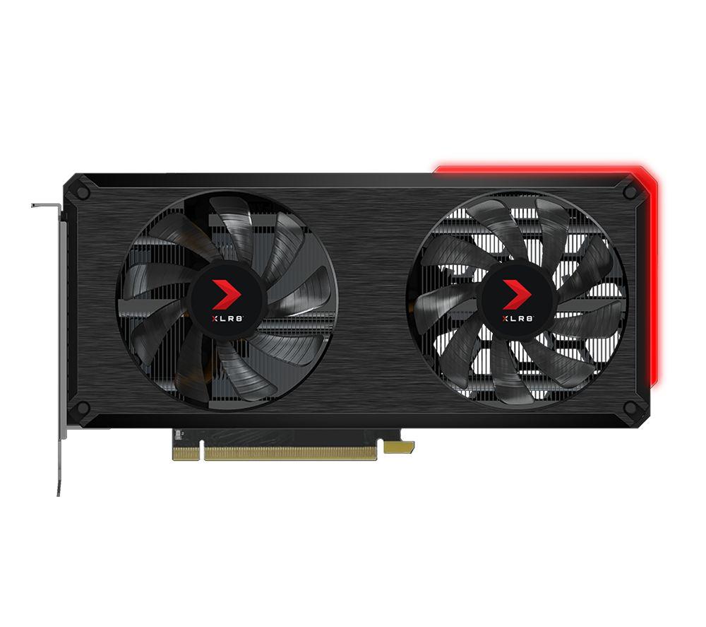 PNY GeForce RTX 3060 Ti 8 GB XLR8 Gaming REVEL Edition Graphics Card