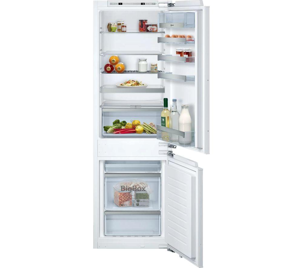 NEFF N70 KI7863DF0G 60/40 Integrated Fridge Freezer - Fixed Hinge