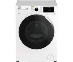 HygieneShield WDEY854044HW Bluetooth 8 kg Washer Dryer - White