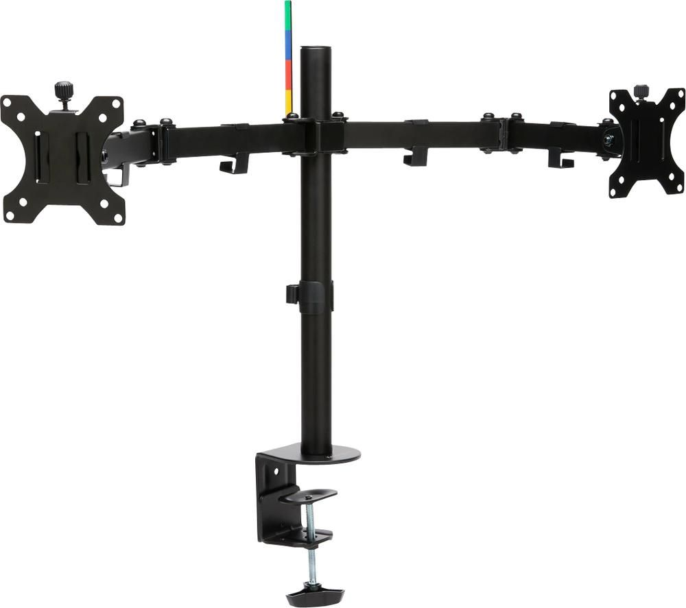 "KENSINGTON SmartFit Ergo K55409WW Dual Arm Full Motion 32"" Monitor Mount"