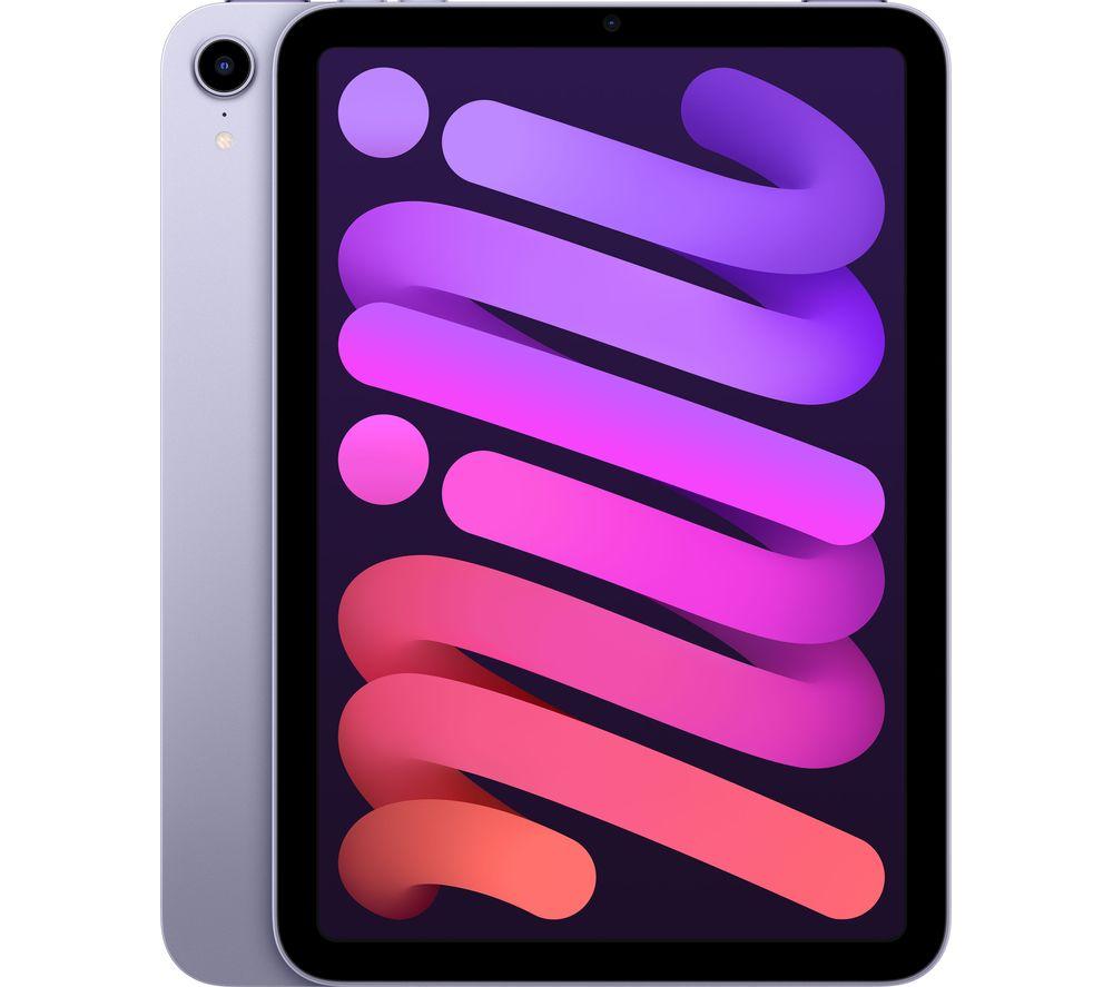 """APPLE 8.3"""" iPad mini (2021) - 64 GB, Purple"""
