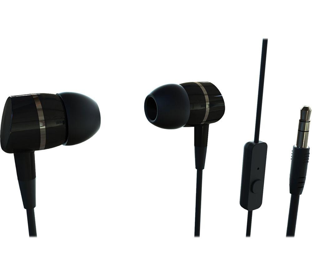 VIVANCO Smartsound Earphones - Black
