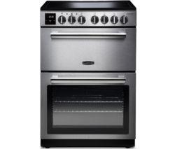 Professional+ PROPL60ECSS/C 60 cm Electric Ceramic Range Cooker - Stainless Steel & Chrome
