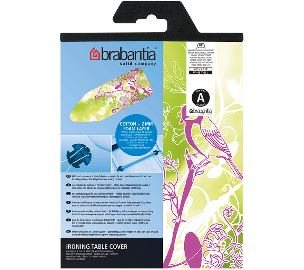 BRABANTIA 194801 Ironing Board Cover, Green