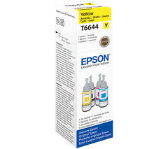 EPSON T6644 Yellow Ecotank Ink Bottle - 70 ml