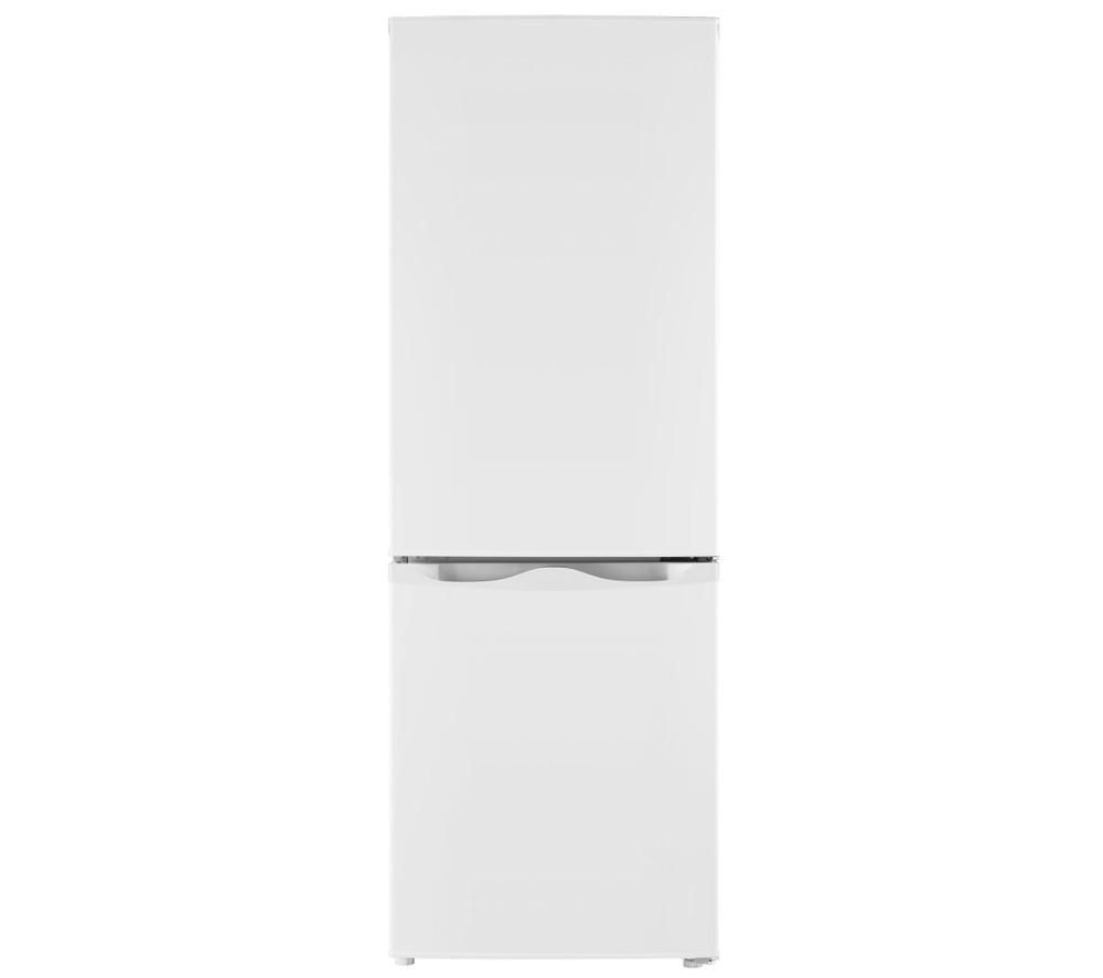 ESSENTIALS C50BW16 Fridge Freezer - White, White
