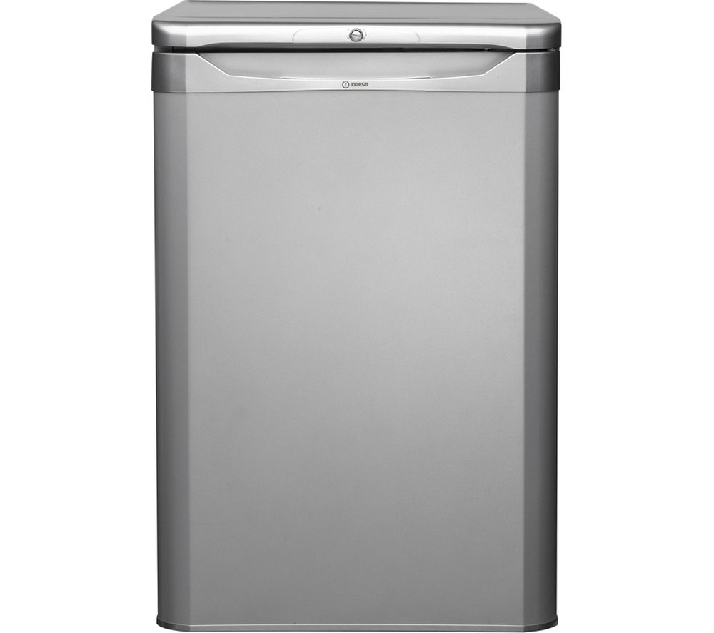 INDESIT TLAA10S Undercounter Fridge - Silver