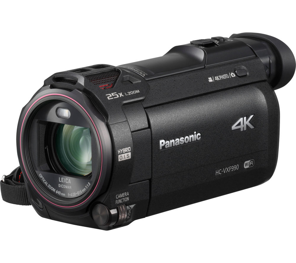 PANASONIC HC-VXF990EBK 4K Ultra HD Camcorder - Black + Adventura SH110 ll Camcorder Case - Black
