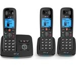 BT 6610 Cordless Phone with Answering Machine - Triple Handsets