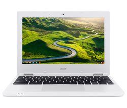 """ACER CB3-131 11.6"""" Chromebook - White"""
