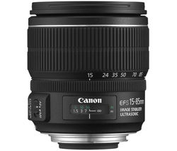 CANON EF-S 15-85 mm f/3.5-5.6 IS USM Standard Zoom Lens