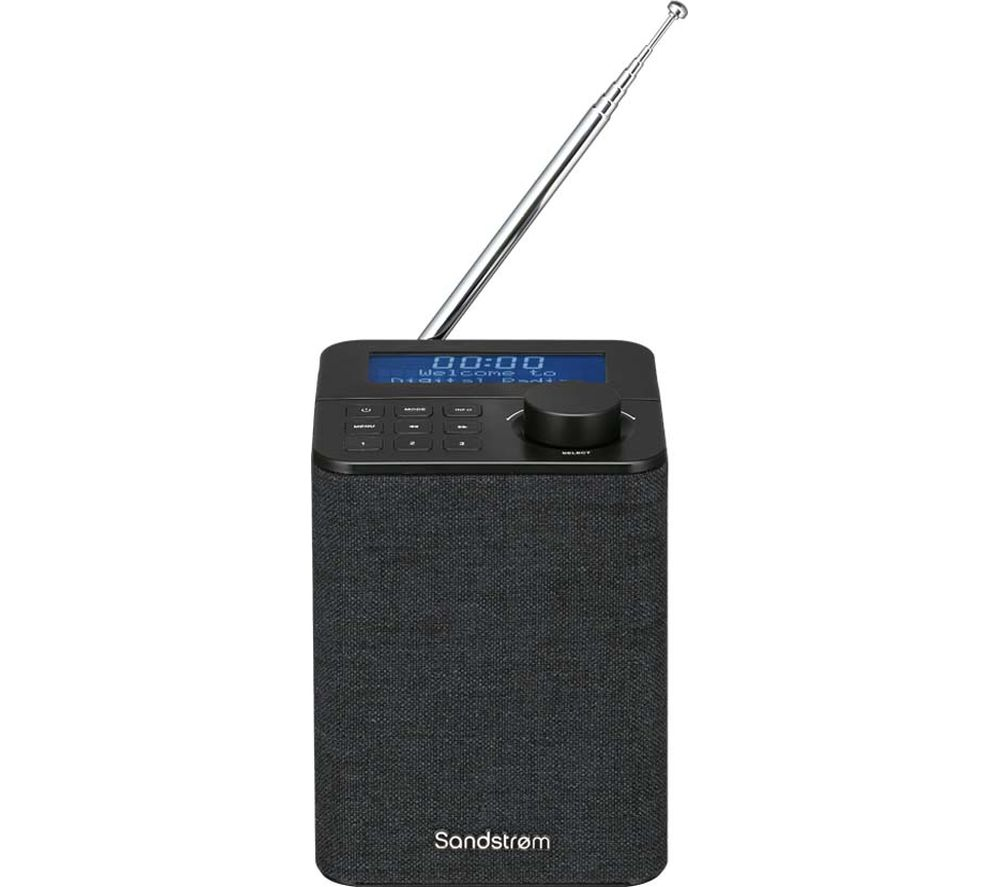 SANDSTROM SFPDAB17 Portable DAB+/FM Radio - Dark Grey