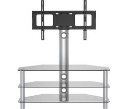 VIVANCO Brisa 1000 TV Stand with Bracket - Smoked