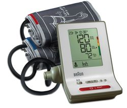 BRAUN ExactFit 3 BP6000 Upper Arm Blood Pressure Monitor