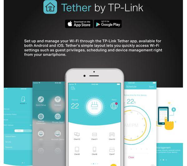 TP-LINK Archer VR900 V2 WiFi Modem Router - AC 1900, Dual-band