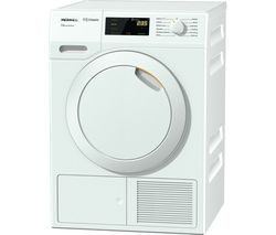 MIELE Eco & Comfort TDD130WP Heat Pump Tumble Dryer - White
