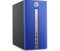 HP Pavilion 570-p017na Desktop PC - Blue
