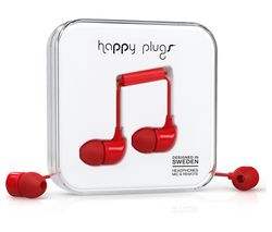 HAPPY PLUGS HP7716 Headphones - Red