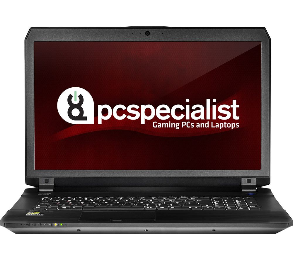 "PC SPECIALIST Defiance III RS17-VR 17.3"" Gaming Laptop - Black + Office 365 Personal + LiveSafe Premium 2018 - 1 user / unlimited devices for 1 year"