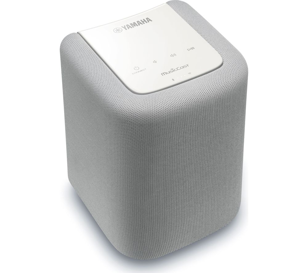 YAMAHA WX-010 Bluetooth Wireless Smart Sound Speaker - White