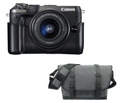 CANON EOS M6 Mirrorless Camera with EF-M 15-45 mm f/3.5-6.3 IS STM Lens