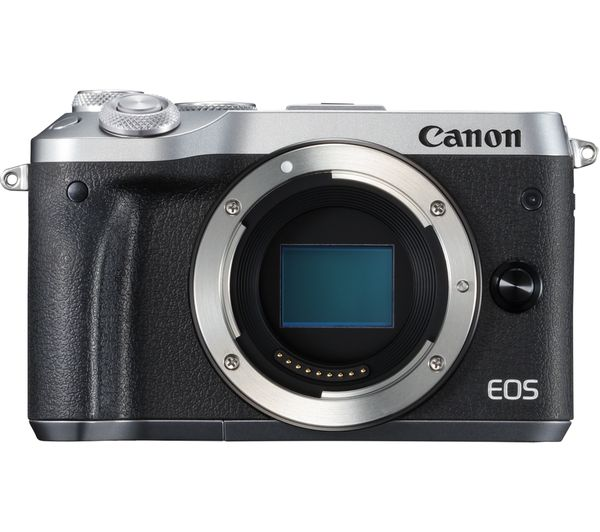 Buy CANON EOS M6 Mirrorless Camera \u0026 Accessories Bundle  Free Delivery  Currys