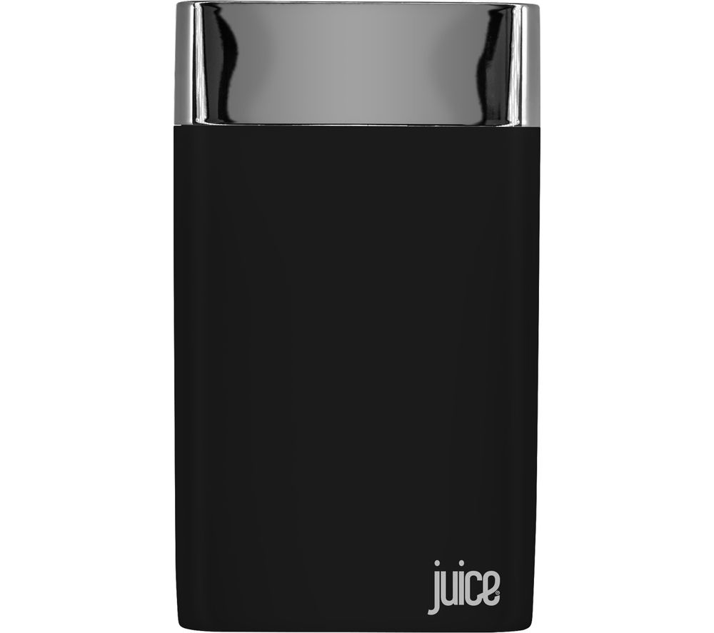 JUICE Long Weekender Portable Power Bank - Black