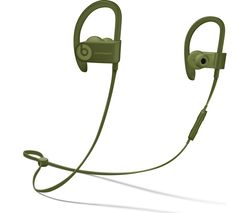 BEATS Powerbeats3 Neighbourhood Wireless Bluetooth Headphones - Turf Green