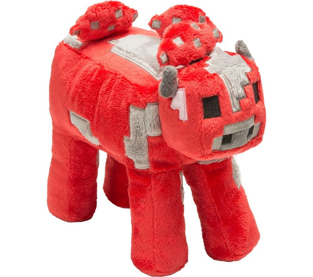 Compare retail prices of Minecraft Mooshroom Plush Toy with Hang Tag - 9 Inch to get the best deal online