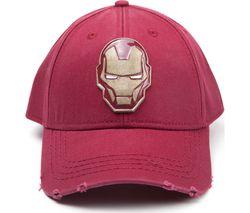 AVENGERS Iron Man Copper Badge Baseball Cap