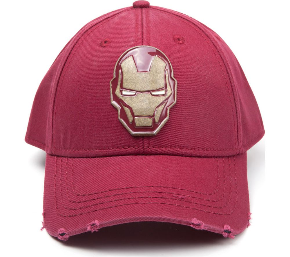 Image of AVENGERS Iron Man Copper Badge Baseball Cap