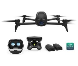 PARROT Bebop 2 FPV Power Edition Drone with SkyController 2 - Black