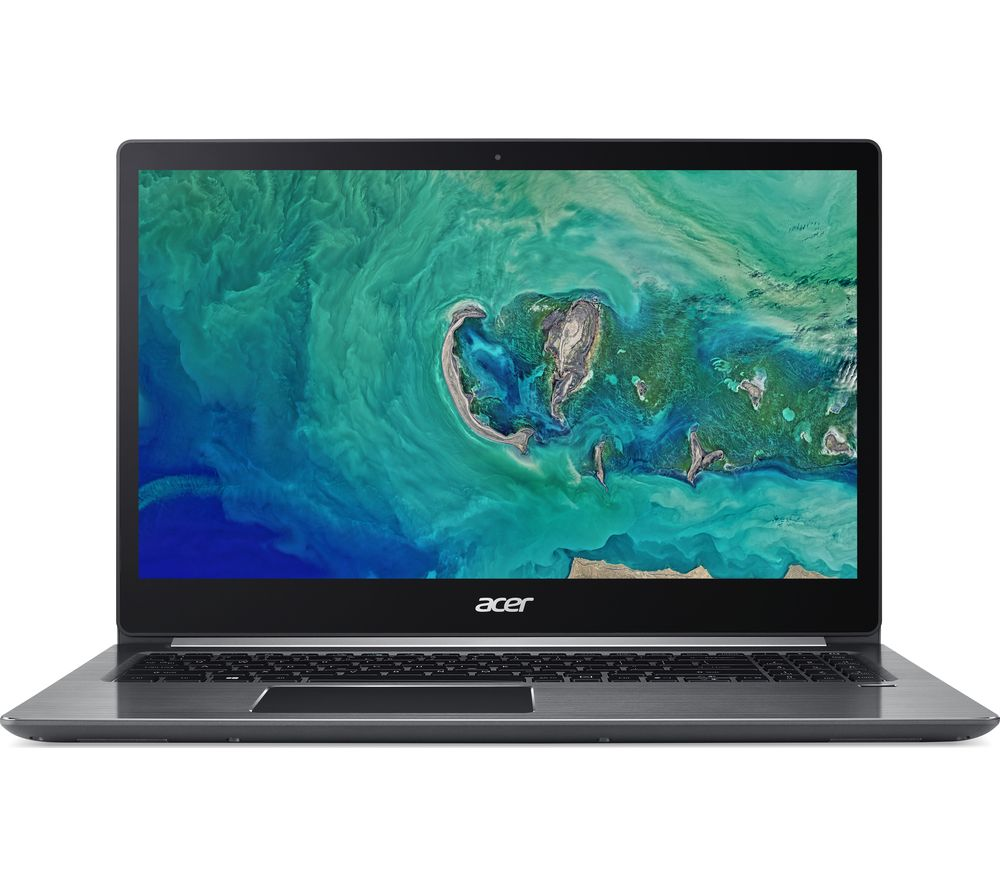 "Image of ACER Swift 3 15.6"" AMD Ryzen 5 Laptop - 256 GB SSD, Grey, Grey"