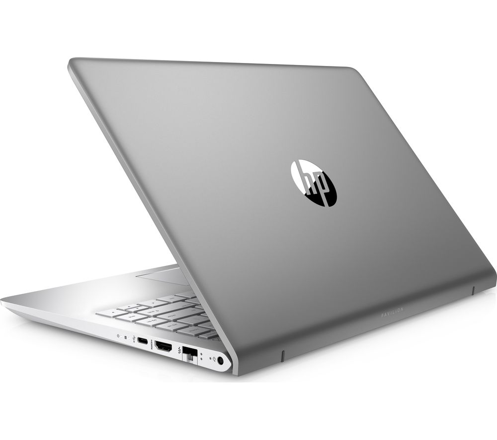 "HP Pavilion Pro 14-bf154sa 14"" Laptop - Silver + Office 365 Home - 1 year for 5 users + LiveSafe Premium 2018 - 1 year for unlimited devices"
