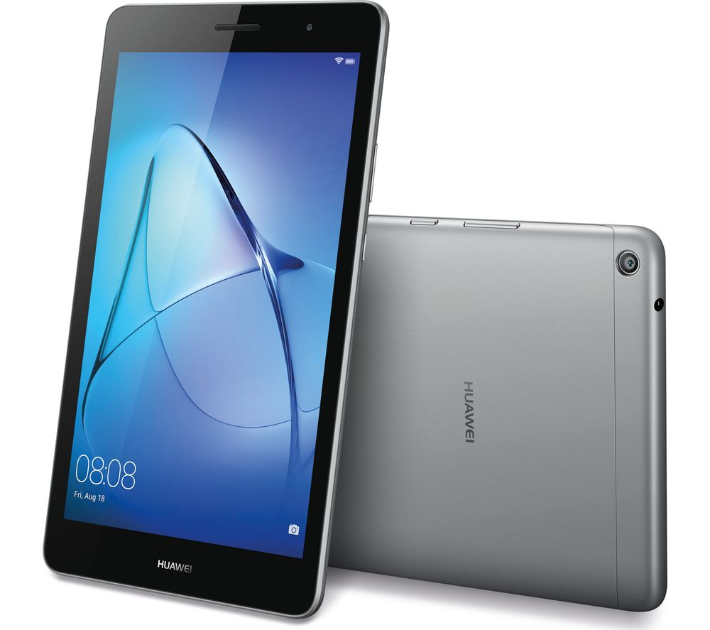 huawei mediapad t3 8 tablet 16 gb grey deals pc world. Black Bedroom Furniture Sets. Home Design Ideas