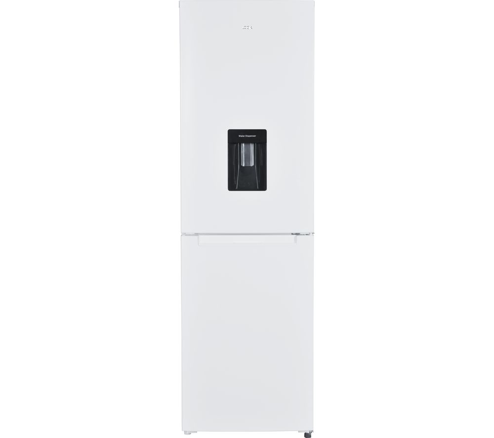 LOGIK LFFD55W18 50/50 Fridge Freezer - White, White