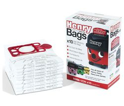 Genuine Henry Dust Bags - Pack of 10