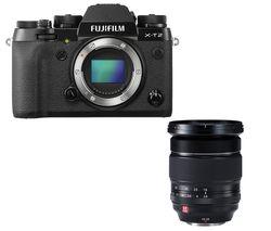 FUJIFILM X-T2 Mirrorless Camera - Body Only