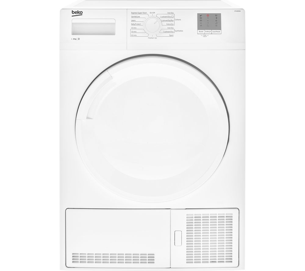 BEKO DTGC8000W 8 kg Condenser Tumble Dryer - White