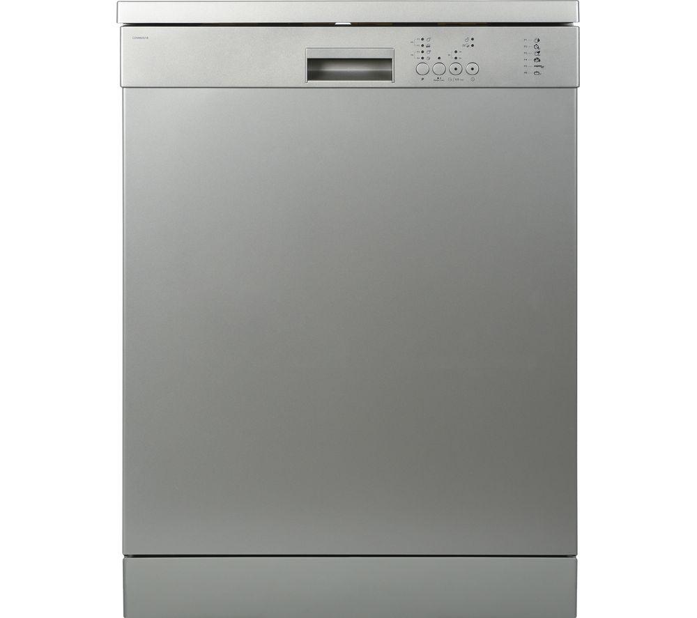 ESSENTIALS CDW60S18 Full-size Dishwasher - Dark Silver