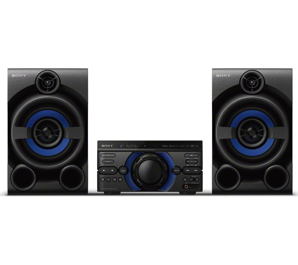 buy sony mhc m20d bluetooth traditional hi fi system. Black Bedroom Furniture Sets. Home Design Ideas