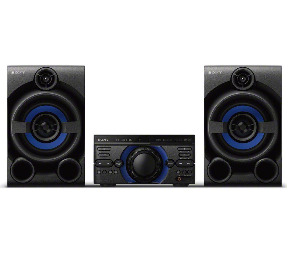 Buy Sony Mhc M20d Bluetooth Traditional Hi Fi System